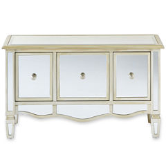 Versailles 3-Drawer Mirrored Storage Chest