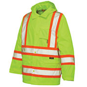 Work King High-Visibility Rain Jacket