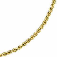 14K Gold Glitter Rope 20-24