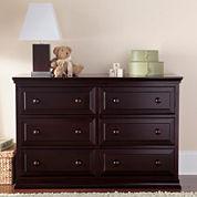 Rockland Austin Dresser/Changing Table - Merlot