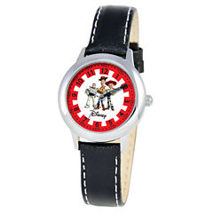 Disney Time Teacher Toy Story Kids Black Watch