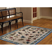 Flower Patch Washable Rug Collection