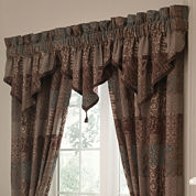 Croscill Classics® Catalina Brown 2-Pack Curtain Panels