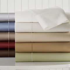Royal Velvet® 400tc WrinkleGuard™ Set of 2 Pillowcases