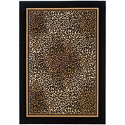 Couristan® Leopard Rectangular Rug