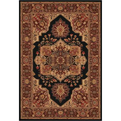 couristan antique sarouk rectangular rug - Couristan Rugs