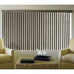 JCPenney Home™ Linen-Look Vinyl Vertical Blinds