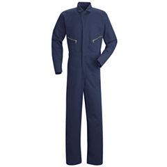 Red Kap® Zip-Front Cotton Coveralls