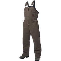 Tough Duck™ Washed Canvas Lined Bib Overalls