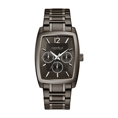 Caravelle New York Mens Black Bracelet Watch-45c111