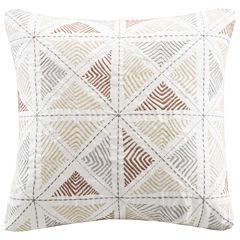 INK+IVY Zelda Square Decorative Pillow