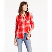 Levi's® Long Sleeve Button-Front Shirt