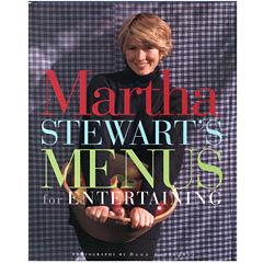 Martha Stewart's Menus for Entertaining