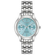 Citizen Womens Silver Tone Bracelet Watch-Fd4010-57l