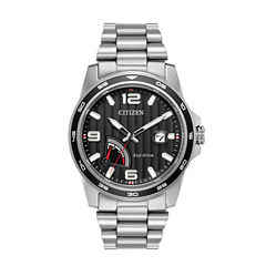 Citizen Mens Silver Tone Bracelet Watch-Aw7030-57e