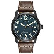 Citizen Mens Brown Strap Watch-Bm8478-01l