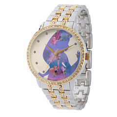 Disney Tangled Womens Two Tone Bracelet Watch-Wds000068