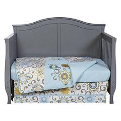 Waverly Pom Pom Spa 4-pc Crib Bedding Set