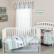Dr Seuss New Fish 5-pc Crib Bedding Set