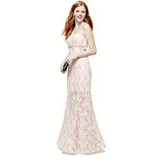 Lace Dress, Chandelier Earrings, Handbag, Bracelet or Strappy Sandals