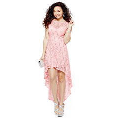Sequin-and-Lace Dress, Fabric Clutch, Strappy Sandals, Earrings or Bracelet