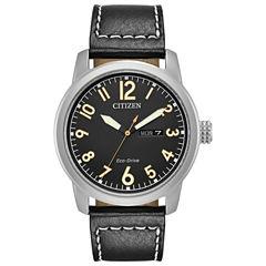 Citizen Mens Black Strap Watch-Bm8471-01e