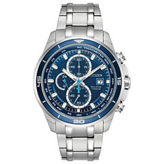 Citizen Mens Silver Tone Bracelet Watch-Ca0349-51l