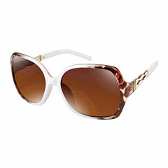 Rocawear Full Frame Square UV Protection Sunglasses-Womens