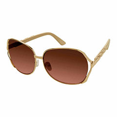 South Pole Round UV Protection Sunglasses-Womens