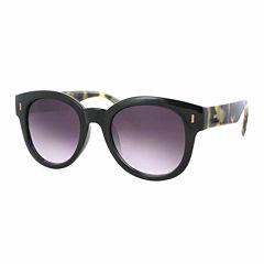Glance Retro Rectangle Rectangular UV Protection Sunglasses