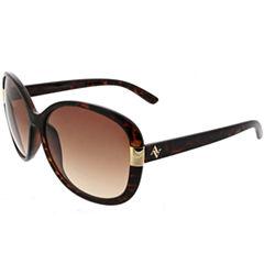 Adrienne Vittadini  Full Frame Round Sunglasses