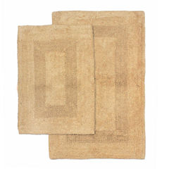 Homewear Linens Athens 2-pc. Reversible Bath Rug Set