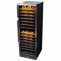NewAir AWR-1600DB Premier Gold Series 160 Bottle Built-in Compressor Wine Cooler