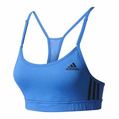 Adidas 3 Stripes Light Support Sports Bra