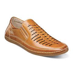 Stacy Adams® Naples Mens Moc-Toe Slip-On Sandals
