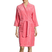 Comfort & Co Long-Sleeve Fleece Wrap Long Robe