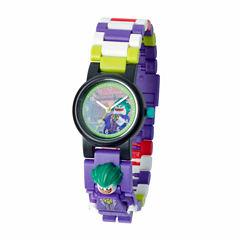Lego The Lego Batman Movie Batman Boys Multicolor Strap Watch-8020851