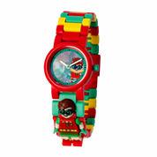 Lego The Lego Batman Movie Batman Boys Multicolor Strap Watch-8020868