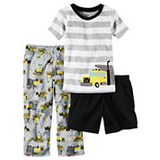 Carter's 3-pc. Short Sleeve-Toddler Boys