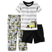 Carter's 3-pc. Short Sleeve-Toddler Boys
