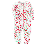 Carter's Girl White Footed Sleep-N-Play