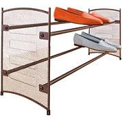 LYNK® Expandable Mesh Shoe Rack