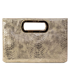 Gunne Sax by Jessica McClintock Tiffany Cut Out Handle Evening Bag