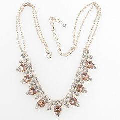 Vieste Rosa Pink Statement Necklace