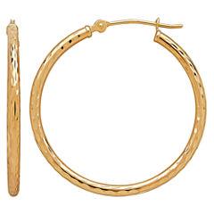 Limited Quantities! 10K Gold Hoop Earrings