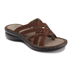 Eastland® Lila Womens Slip-On Leather Sandals