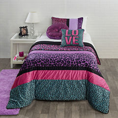 Seventeen® Pop Cheetah Comforter Set