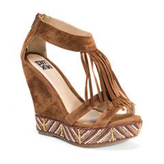 Muk Luks Ciara Womens Wedge Sandals
