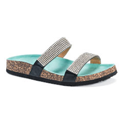 Muk Luks Delilah Womens Flat Sandals