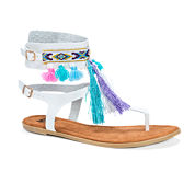 Muk Luks Chrystal Womens Flat Sandals